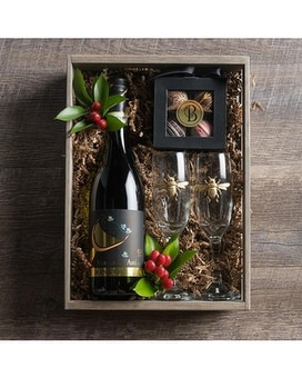 Bee Classy Champagne Crate