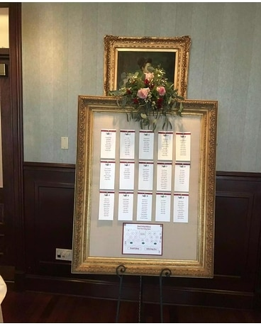 Seating Chart Frame