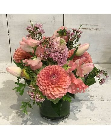 Mini Pink Bouquet Flower Arrangement