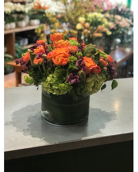 Orange Bliss Flower Arrangement