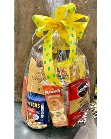 Snack Bags Gift Basket