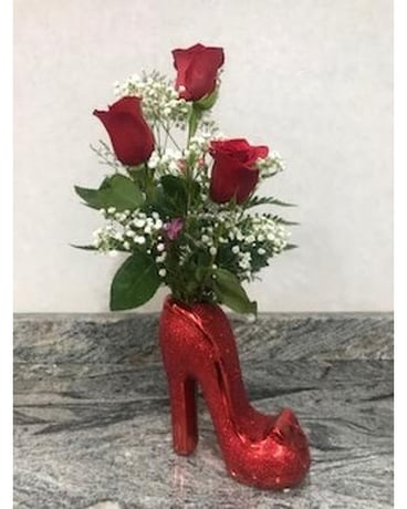High Heel Arrangement Flower Arrangement
