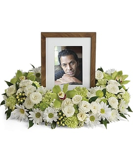 Photo Perfect Memory Tribute Sympathy Arrangement