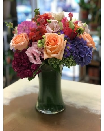 Warm and Happy Flower Arrangement