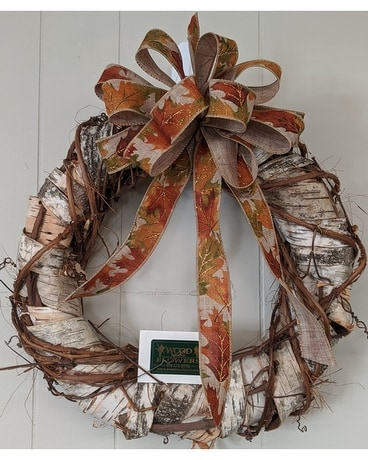 Custom Fall Wreaths Flower Arrangement