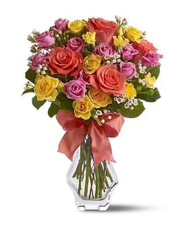 Just Splendid Roses Flower Arrangement