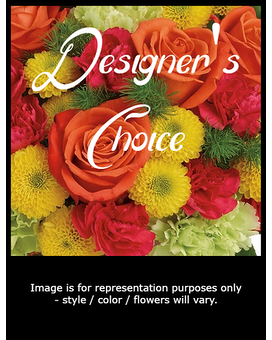 Orange with Mixed Colors Flower Arrangement