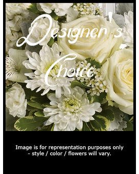 Simply Neutral Flower Arrangement