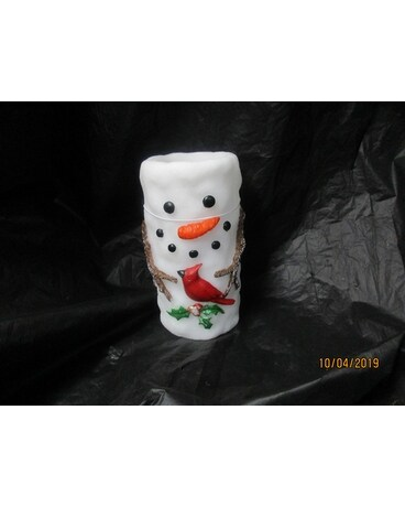 Snowman Candle Gifts