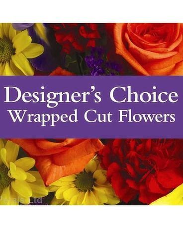 Designer's Choice Wrapped Bouquet Bouquet
