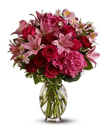Teleflora's Head Over Heels - by Cherryland Floral Flower Arrangement