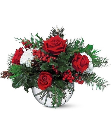 Christmas Bubble Bowl In Traverse City Mi Cherryland Floral Gifts Inc