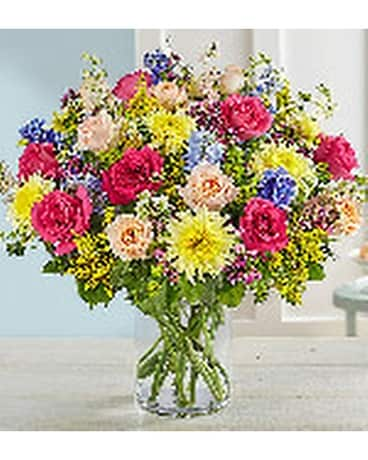 French Country Garden Bouquet By Heart Home Fl Flower Arrangement
