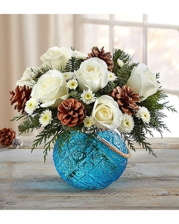 Winter Warmth Flower Arrangement