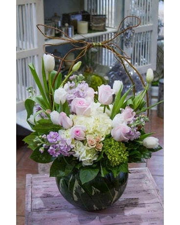 Country tulips Flower Arrangement