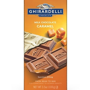 Ghirardelli Milk Chocolate Caramel Bar