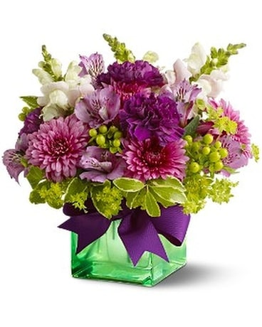 Teleflora's Cheerful Wishes Flower Arrangement