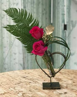 Forever Heart Flower Arrangement