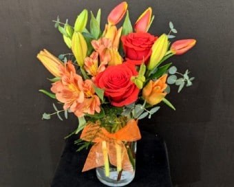 Orange You Hot! Flower Arrangement
