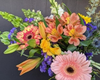 Custom Wildflower Mix Flower Arrangement