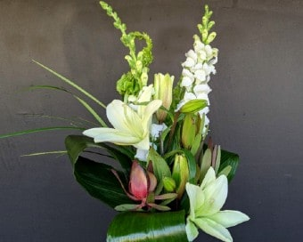 Custom Contemporary Arrangement Flower Arrangement