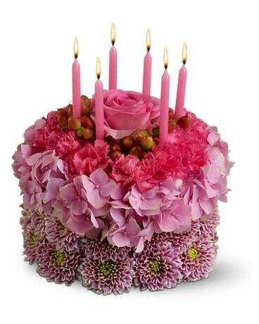 Wishes Come True Flower Arrangement