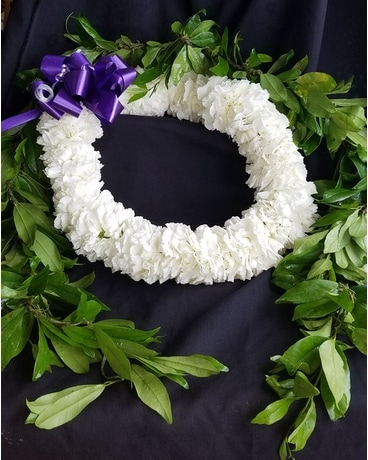 Double Carnation Lei Custom product