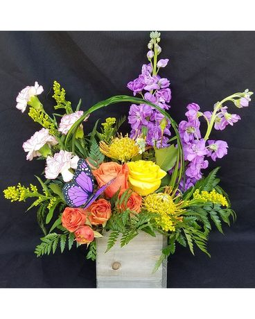 Spring Mix Flower Arrangement