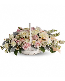 Dawn of Remembrance Basket Sympathy Arrangement