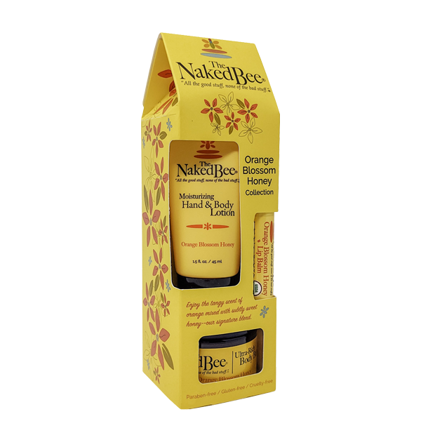 Naked Bee Orange Blossom and Honey Giftset