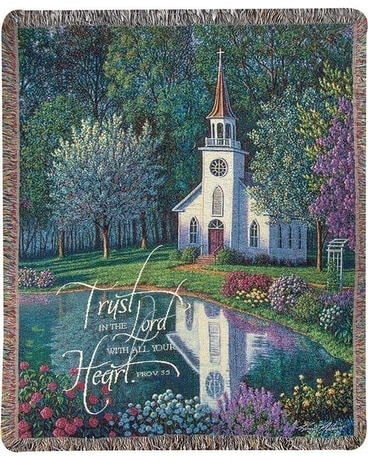 Sanctuary Tapestry Sympathy Arrangement
