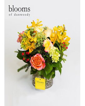 Sunburst Blooms Flower Arrangement
