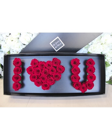 I LOVE YOU FLOWER'S BOX in Laval QC - La Grace des Fleurs