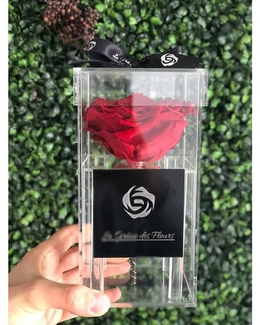 Giant Eternal Rose Luxury Box Flower Arrangement