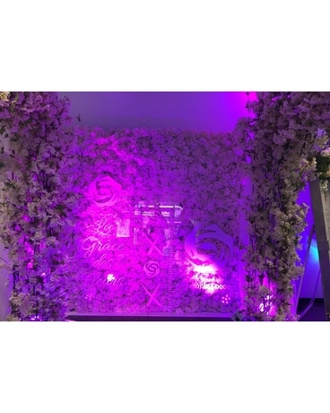 Wall Flowers in Color Light Specialty Arrangement