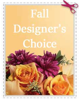 Fall Designer's Choice Flower Arrangement