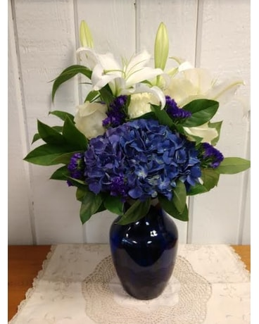 Best Blues Flower Arrangement