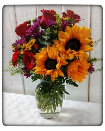 Sunny days sunflowers Flower Arrangement