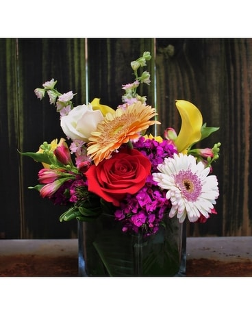 Summer Squared Flower Arrangement