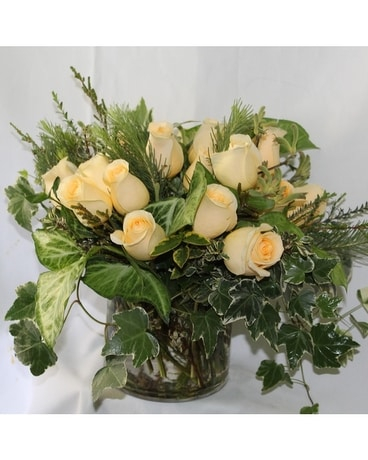 Creme De La Creme Flower Arrangement