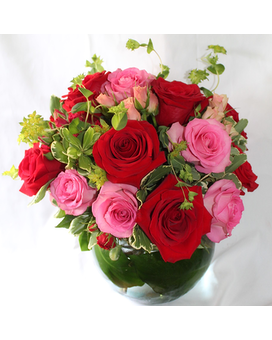 Rose Bowl Flower Arrangement