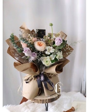 Café Noir Sentiment Bouquet