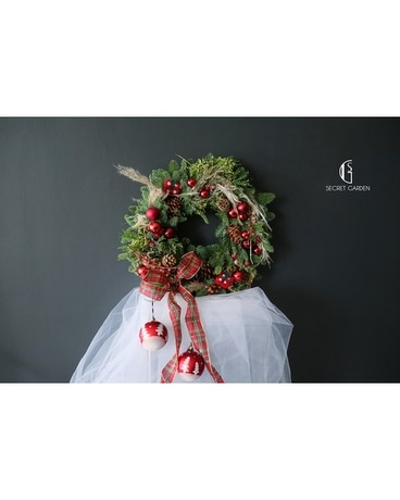 Christmas Wreath (Red)