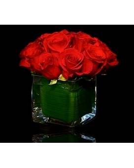 Red Rose Cube