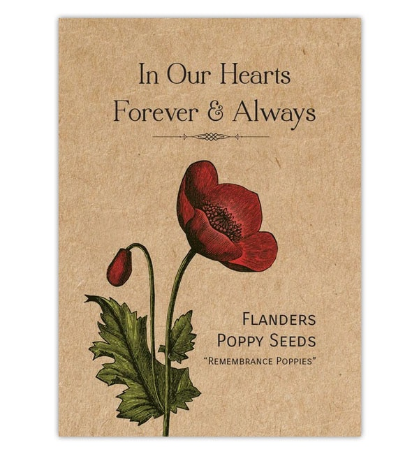 Remembrance Poppy Seeds