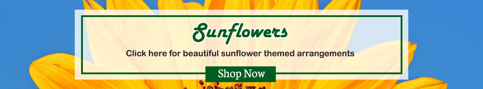 Beautiful Sunflower arrangements