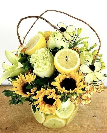 When Life Gives You Lemons Flower Arrangement  sc 1 st  Raimondi\u0027s Florist & When Life Gives You Lemons in Baltimore MD - Raimondi\u0027s Flowers ...