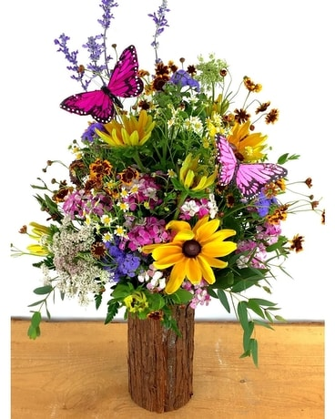 Summer Wildflowers Flower Arrangement