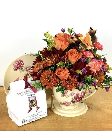 Apple Harvest Flower Arrangement