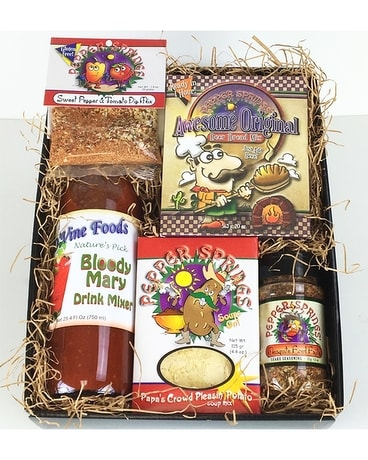 Peppers Gourmet Gift Basket